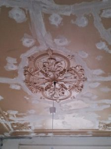 herstel ornamenten plafond silberling collectie